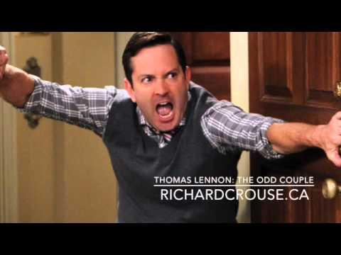 "Richard Crouse interviews ""The Odd Couple"" star Thomas Lennon"
