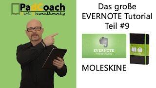 Evernote das große Tutorial Teil #9: Moleskine