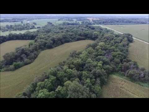 Norlin & Roach Family Farm Aerial Tour - Hancock County, IL