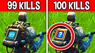 WHAT happens with the NEW BACKPACK at 100 KILLS? 😱 Fortnite Battle Royale