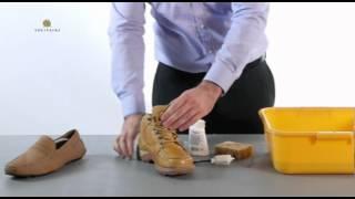 SOLITAIRE. Уход за обувью из замши, нубука(Весьма познавательный видеоролик об уходе за обувью из замши, нубука, велюра от известной немецкой компани..., 2012-04-09T14:51:28.000Z)