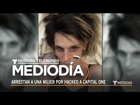 El banco Capital One sufre un hackeo masivo y roban millones de datos | Noticias Telemundo