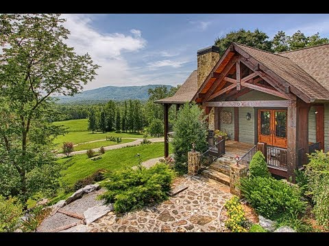 Prestigious Rustic Ranch in Tellico Plains, Tennessee | Sotheby's International Realty
