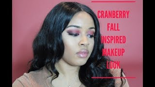 Cranberry smokey eye|  Fall Inspired