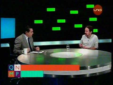Pablo Iglesias de PODEMOS en Bolivia, entrevista