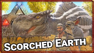★ Tame a morellatops - ARK Survival Evolved Scorched Earth single player - ARK Scorched Earth pt 2