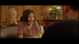 LEON (The Professional)(HD)  - Mathilda laughing scene