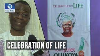 Celebration Of Life As MFM GO Olukoya Buries Mum