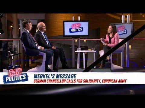German MEPs react to Merkel's call for a European army   Raw Politics