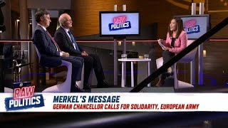 German MEPs react to Merkel's call for a European army | Raw Politics