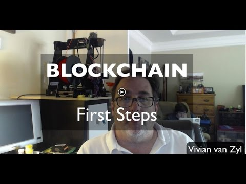 First Steps - Blockchain