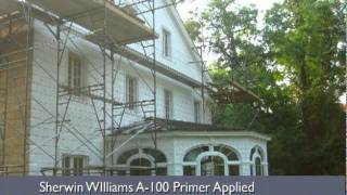 Case Study: Nassau Hall Historic Restoration of 95 Yr. Old Mansion via Chemical Striping