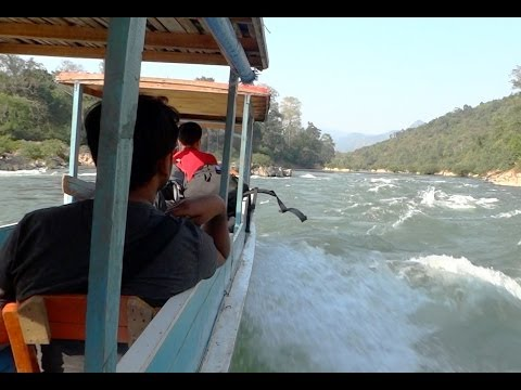 Slow Boat Into Laos - Backpacking Southeast Asia