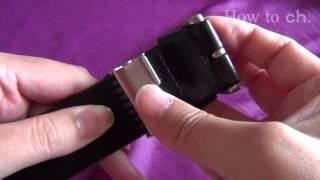ベルトのバックルの外し方-Removing the belt buckle- thumbnail
