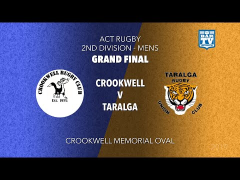 2019 ACT Rugby 2nd Division Grand Final - Crookwell Dogs V Taralga Tigers