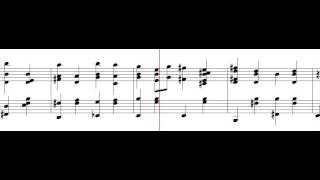 Katyusha piano sheet music