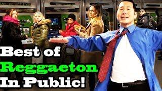 BEST OF REGGAETON - SINGING IN PUBLIC!! (Ozuna, Daddy Yankee, Shakira, Romeo Santos, more) - best reggaeton music videos 2020