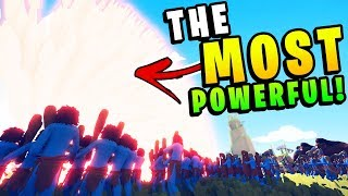 TABS - The MOST Powerful Weapon The Game Has Seen! - Totally Accurate Battle Simulator