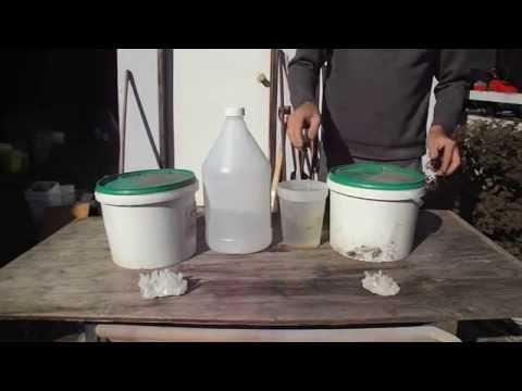 cleaning quartz crystals