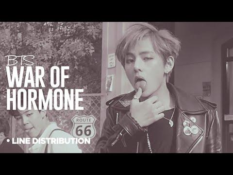 BTS - War Of Hormone: Line Distribution