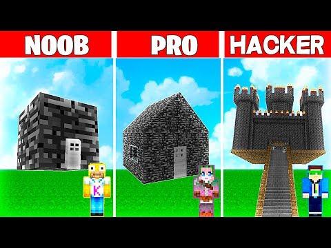 Minecraft NOOB vs PRO vs HACKER: LA CASA de BEDROCK MÁS GRANDE de MINECRAFT 😱 thumbnail