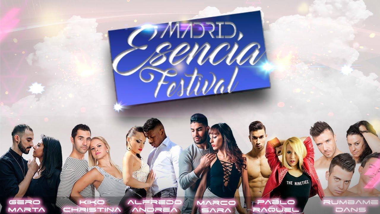 MADRID ESENCIA FESTIVAL - DEL 12 AL 14 DE OCTUBRE DE 2018