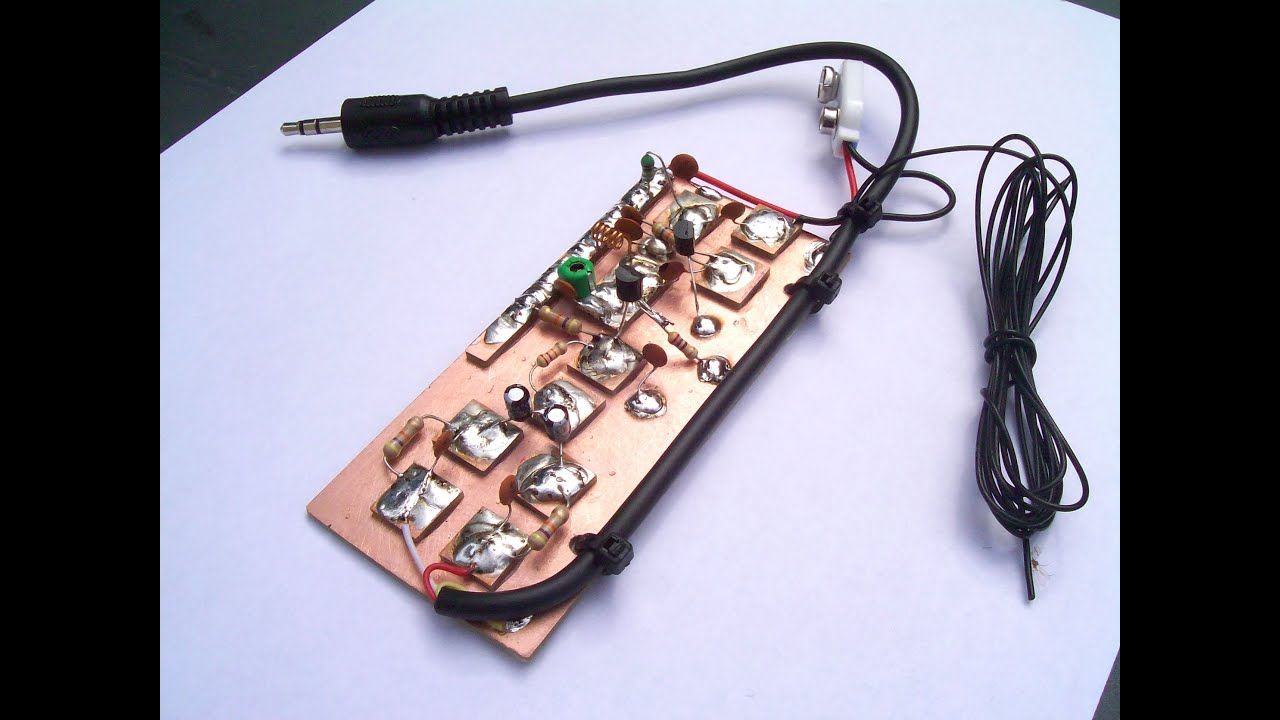 Fm Transmitter 1 Watt 1w High Power Circuit Board Radio Build Your Very Own Small Pirate Stationi Show You How To A Youtube