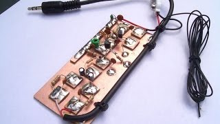 Build your very own small pirate radio station.I show you how to build a small FM transmitter