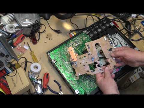 Sony SLV585 Full mechanism tear down and repair