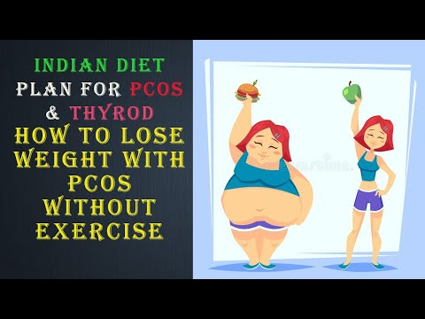 How to lose weight with PCOS without exercise | Full Day Meal Plan