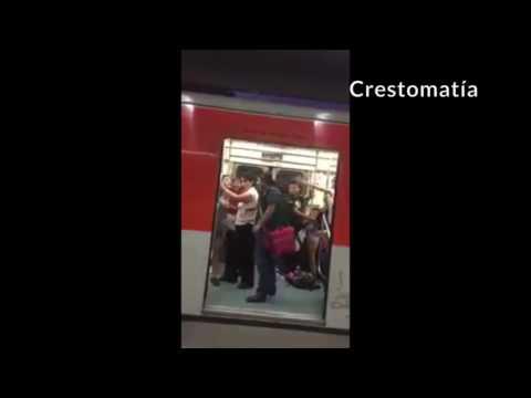 """""""¡No la toques"""", le grita una usuaria a otra y arman pelea en el Metro de la Línea 2, CdMx"""
