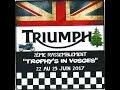 2 ém Rassemblement  Triumph Trophy 1200  Se France Vosges 2017