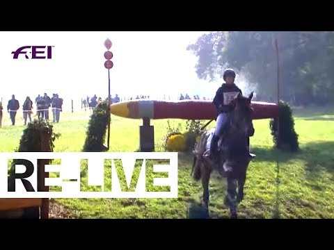 RE-LIVE | Cross Country | FEI World Breeding Eventing Championships | Le Lion d'Angers
