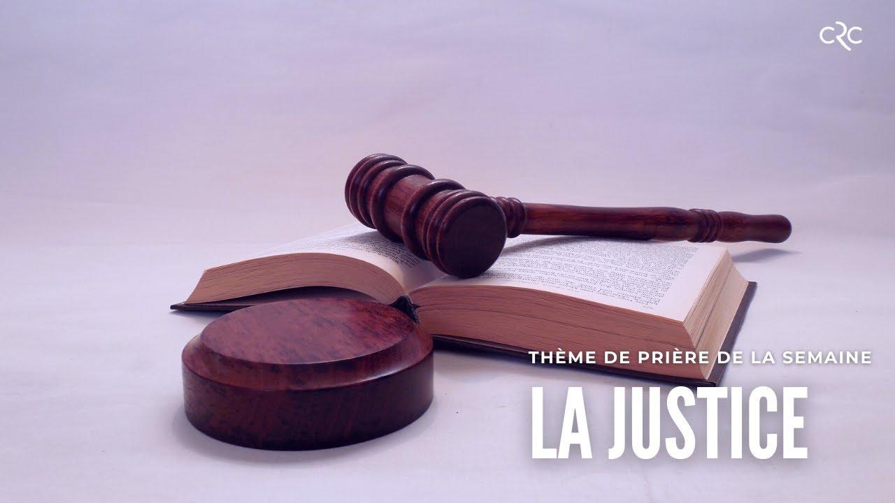 La justice de Dieu pour toi | Pst. Jocelyne Goma