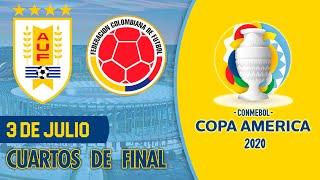 URUGUAY vs COLOMBIA - Copa América 2021 | Cuartos de Final