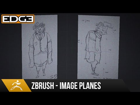 Zbrush Tutorial - How To Set Up Image Planes HD