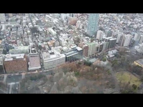 beautiful High rise buildings and stunning views from Tokyo city, in japan