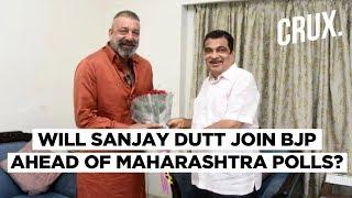 Sanjay Dutt Meets Gadkari Amid Rumours of 2nd Innings In Politics