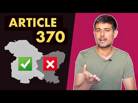 Article 370 Removal: Right or Wrong?   Explained by Dhruv Rathee