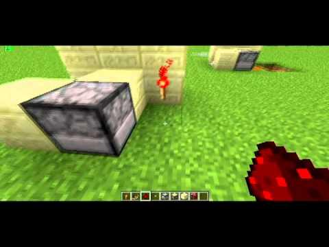 Механизмы и схемы в Minecraft,