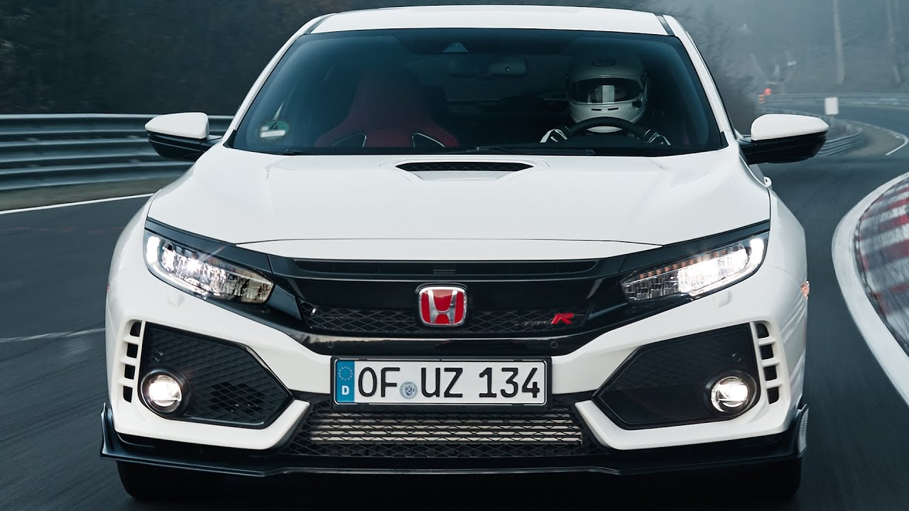 honda civic type r 2017 new record at the n rburgring. Black Bedroom Furniture Sets. Home Design Ideas