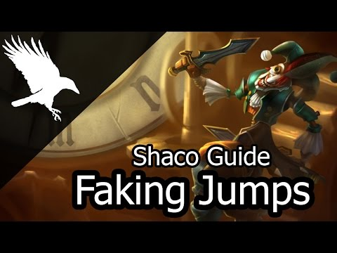 Advanced Shaco Tips | How to fake jumps (Deceive)