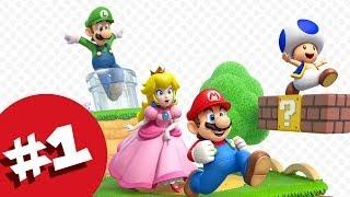 Let's Play Super Mario 3D World Part 1 - Freerange Luigi