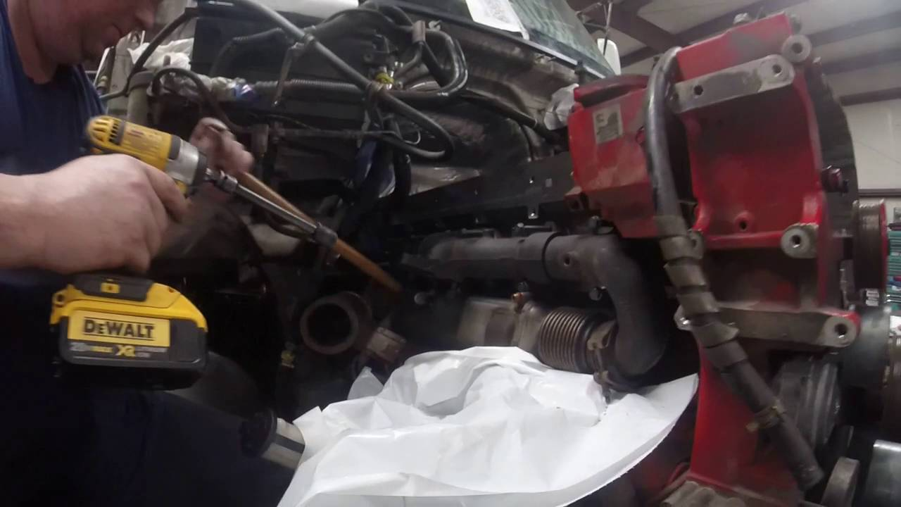 isx engine re build pt47 exhaust manifold by rawze