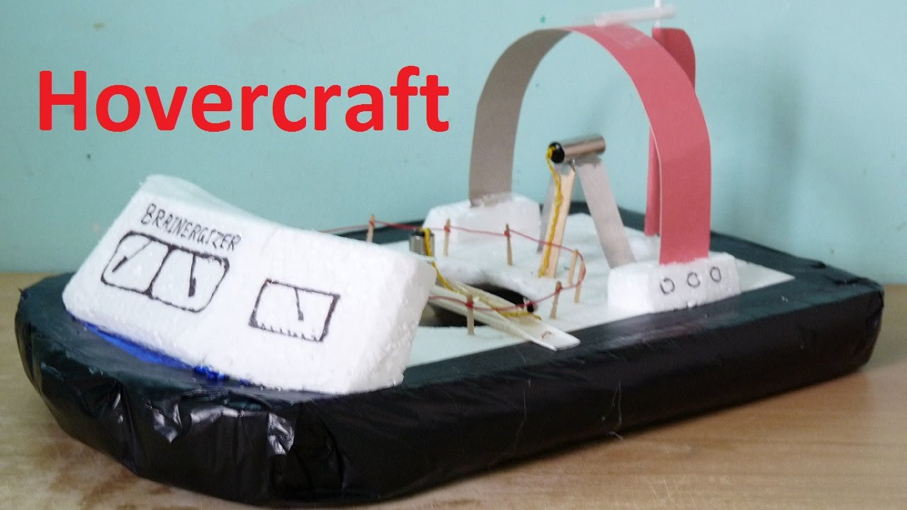 How to make a mini hovercraft at home youtube solutioingenieria Image collections