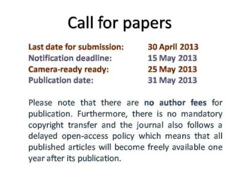 International Journal of Computer Science and Business Informatics