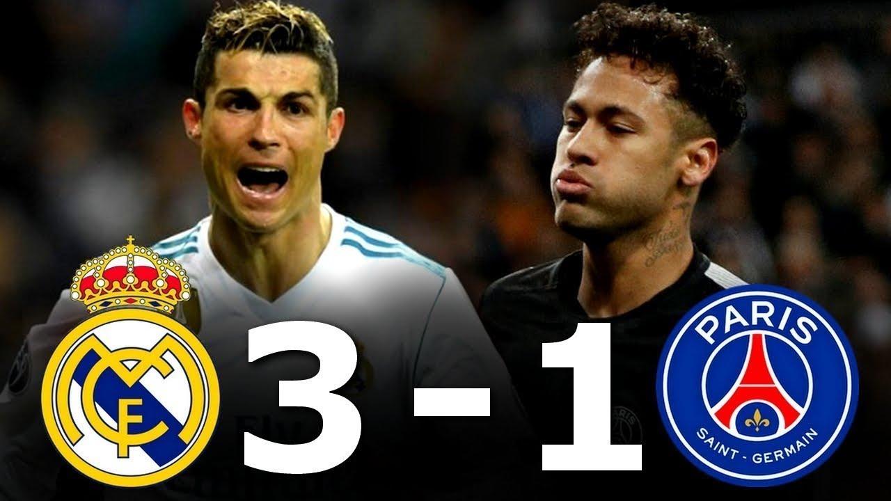 Real Madrid Vs Psg Extended Highlights