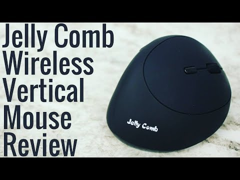 2ad828840ab Jelly Comb Wireless Vertical Mouse - Review - YouTube