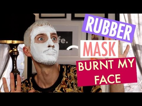 Rubber fuck my face