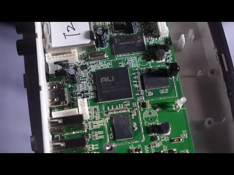 ALi M3733 dual-core ARM Cortex-A9 with DVB-T2 Tuner shown by UyeSee